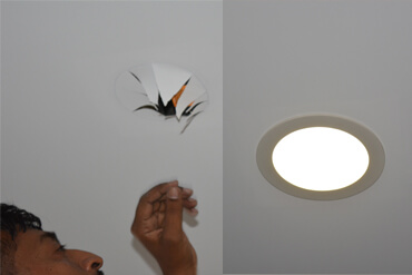 Clipso Ceiling Installation