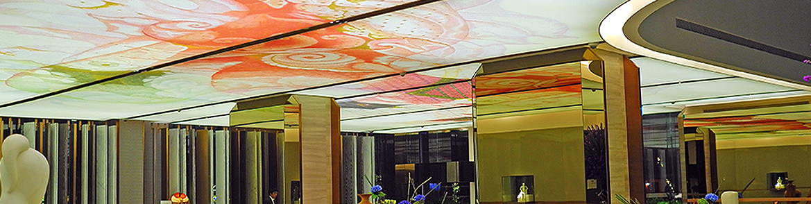 tylish Wall Coverings and Stretch Ceilings Installation